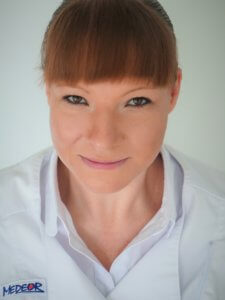 Pani Dr Anna Berezowska specjalistą endokrynologiem